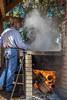 Boiling it Down (hetrickwesley) Tags: canon 80d florida gainesville caneboil livinghistory 1870s morningside morningsidenaturecenter fire boil sugarcane syrup syrupmaking