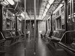 New York Transit Museum (SG Dorney) Tags: newyorktransitmuseum newyorkcitysubway subway mta subwaycar train bw blackandwhite monochrome nyc brooklyn city newyorkcity boerumhill ny