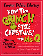 Grinch with Ms. Q