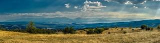 View to Rila mountain