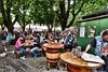 Beer garden. (Fotofricassee) Tags: beer crowded munich beergarden