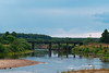 Риковский мост (logica.bs) Tags: river река нея мост лето природа пейзаж поворот отмель вода кострома