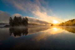 Sunrise, The Massassauga Provincial Park (Florin Mechetiuc) Tags: canadianfall goldenhour ontariolakes greatlakes discoverontario
