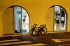 ballet (.martinjakab) Tags: people ballet window bicycle streetphotography dance whitebalance xpro2 fujifilm