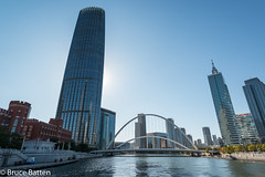 171029 Tianjin-23.jpg (Bruce Batten) Tags: trees locations plants reflections trips occasions rivers subjects transportationinfrastructure buildings tianjin bridges businessresearchtrips china urbanscenery tianjinshi cn