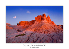 Dusk light at Red Top Australia Outback (sugarbellaleah) Tags: desert barrren arid cracked earth clay redtop sand moon lunar lunette sky stars glow red desolate erosion landscape scenic picturesque mungo nature environment australia outback luminous texture drought