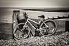 Beach bicycle (Aliy) Tags: tankerton swalecliffe whitstable beach coast sea bike bicycle groyne