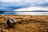 pors trez (mikiiiiderrien) Tags: sand sable pierre rock caillou sea mer carantec bretagne finistère britany bateau boat cloud nuage
