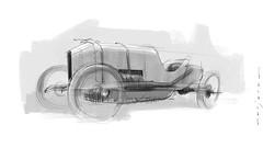 Wolseley s (Stefan Marjoram) Tags: sketch drawing ipad pro procreate apple pencil car vintage racing plein air