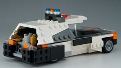 Police_car_02 (kaba_and_son) Tags: police car lego bladerunner ブレードランナー レゴ ポリスカー パトカー