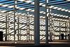 Zebra building - explored (Manuel Aragon) Tags: building construction