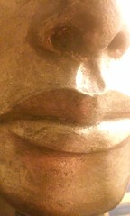Boy King (Ean Morgan) Tags: boy king boyking tutankhamun kingtut gold lips mouth face mask funeral ancient egypt egyptian elspethmorgan mitresquaremurder
