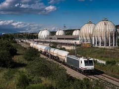 Cisternas VTG (J.Bonet) Tags: comsa traxx 253 001 rosco cisternas vtg montornes del valles catalunya catalonia butano