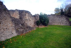 Lesnes Abbey pulpit (zawtowers) Tags: green chain section 1 walk thamesmeadtolesnesabbey sunday 12th november 2017 dry cold amble stroll walking south east london suburbs lesnes abbey park lesnesabbeylesnes ruins closed 1534 dissolution