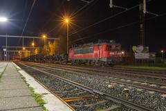 DBC 1614 met militaire trein, Oldenzaal (Dennis te D) Tags: dbc dbcargo 1614 militair militaire trein oldenzaal nacht