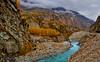 Hunza River (Shehzaad Maroof Khan) Tags: hunza gilgitbaltistan autumn fall karakoram kkh river glacier water mountains fog pakistan blue gold hill countrylandscape landscapephotography