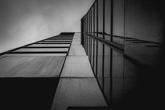 Vektor (s.W.s.) Tags: ottawa canada ontario building architecture architectural urban city up lines abstract nikon d3300 lightroom blackandwhite bw perspective noperson