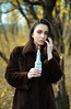 DSC_7850 (stefivan1) Tags: nikond7000 nikon portrait bulgaria 50mm autumn candle girl