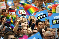 (Myladyboydate) Tags: lgbtqia marriage australia equality union