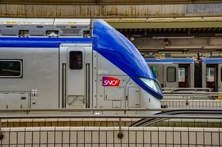 Le train Bleu Argent