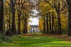 The Mansion Of Nijenburg In Autumn Colors (Monika Kalczuga (on&off)) Tags: the mansion of nijenburg house heiloo netherlands autumn trees golden forest park woods building tree sky grass