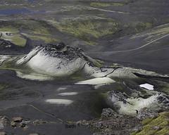 Lakagigar. Iceland (ibethmuttis) Tags: volcano landscape lakagigar iceland snow lake mountains