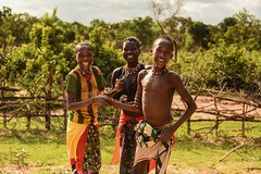 Banna Siblings (Rod Waddington) Tags: africa african afrique ethiopia ethiopian etiopia ethnic ethnicity culture cultural sisters brother family siblings people