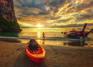 Sunset adventure
