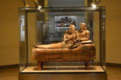 Rome, Italy - Villa Giulia (Etruscan Museum) - Sarcophagus of the Spouses (jrozwado) Tags: europe italy italia rome roma villagiulia museum archaeology etruscan sarcophagus sarcofago spouses sposi terracotta