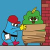 accept_delivery (bubblefriends) Tags: illustration illustrator digitalillustration vector illust cutedesign cute simply simple adobe adobeillustrator delivery bubblefriends daily smile friendly children character characterdesign creative digitalart