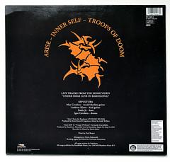 A0462 SEPULTURA Arise (vinylmeister) Tags: vinylrecords albumcoverphotos heavymetal thrashmetal deathmetal blackmetal vinyl schallplatte disque gramophone album