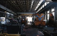 2868 M1852 N1874 Midland Workshops 14 March 1982 (RailWA) Tags: railwa philmelling westrail 1982 m1852 n1874 midland workshops
