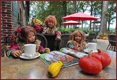 Besuch im Hofladen ... (Kindergartenkinder) Tags: kindergartenkinder annette himstedt dolls tivi annemoni sanrike