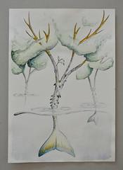 03 pez árbol ([silvicius]) Tags: silvicius silviaparravicini silvis dibujo drawing illustration ilustración