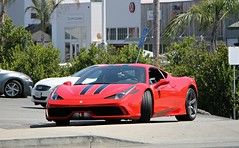 Ferrari 458 Speciale (SPV Automotive) Tags: ferrari 458 speciale coupe exotic sports car supercar red