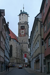 St. Martin in Memmingen (Wolfgang Bazer) Tags: martinskirche memmingen schwaben swabia protestants catholics evangelisch katholisch church steeple bayern bavaria deutschland germany