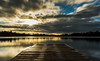 Mere sunrise (EYeardley) Tags: landscapephotography landscape longexposure slowshutter nature 10stopfilter 10stop hoyafilters nikond3300 nikon shropshire ellesmere themere mere water sunrise morning earlymorning
