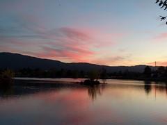 Lake (earthdog) Tags: 2017 lgenexus5x lge nexus 5x water lake losgatoscreektrail campbell dusk sky sunset