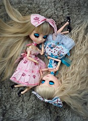 Assimetria (♪Bell♫) Tags: pullip romantic alice pink blue groove doll sofia emilly rosemberg