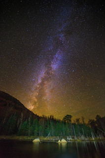 Whiteface Milky Way - Explore 12/1/2017