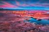 Dusk's blushing overture (Ania Tuzel Photography) Tags: canon5dmark3 alstrompoint lakepowell dusk utah arizona landscape buttes sunset padrebay ef1635mmf4lis