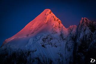 Mont Dolent at sunset ©DeschampsDamien