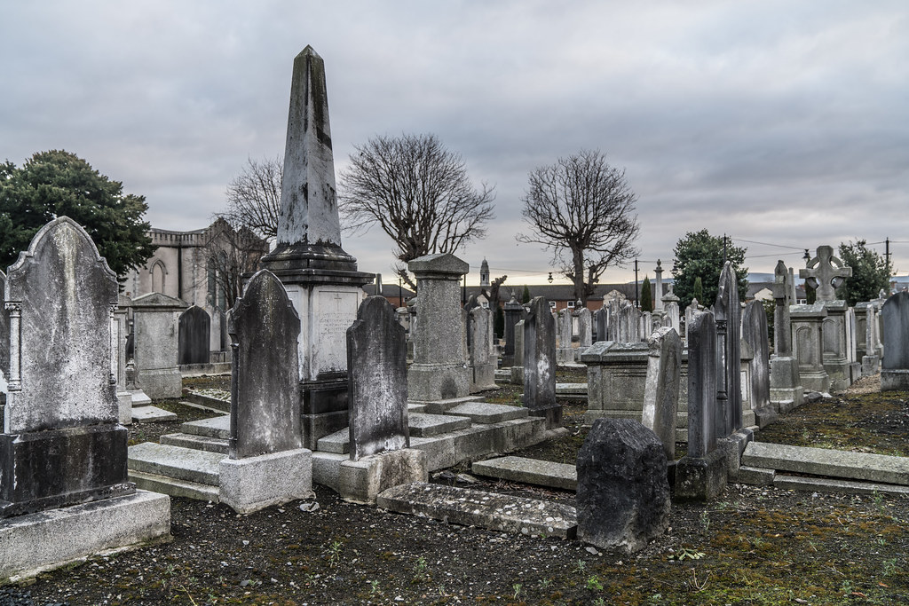 MOUNT JEROME CEMETERY IS AN INTERESTING PLACE TO VISIT [IT CLOSES AT 4PM]-134368