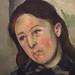 CEZANNE,1885-86 - Portrait de Madame Cézanne, profil gauche (Philadelphie) - Detail 28