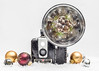 A Camera for Christmas (Lisa Bell Jamison) Tags: brownie camera christmas ornaments stilllife holiday festive browniehawkeye