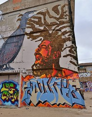 Graffiti, La Rochelle, Le Gabut (thierry llansades) Tags: larochelle lapallice aunis graf graffs graffiti spray aerosol painting bombing legabut gabut fresque fresques peinture peintures urban art urbanart poitou charente charentes