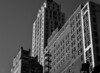 Escape I (Brinkervelt.) Tags: chicago bw blackandwhite blackwhite cmwd cmwdblackandwhite noiretblanc windows escape