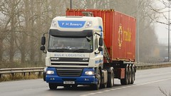 DA13 CBX (panmanstan) Tags: daf cf wagon truck lorry commercial container freight transport haulage vehicle a63 everthorpe yorkshire