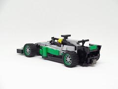 HALO with Mercedes W08 (y.akimeshi) Tags: lego speedchampions racing mercedes amg hamilton formulaone f1 halo