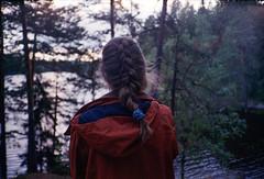 by Kate (amanda aura) Tags: film nuuksio espoo finland yashicat3 nature lake me